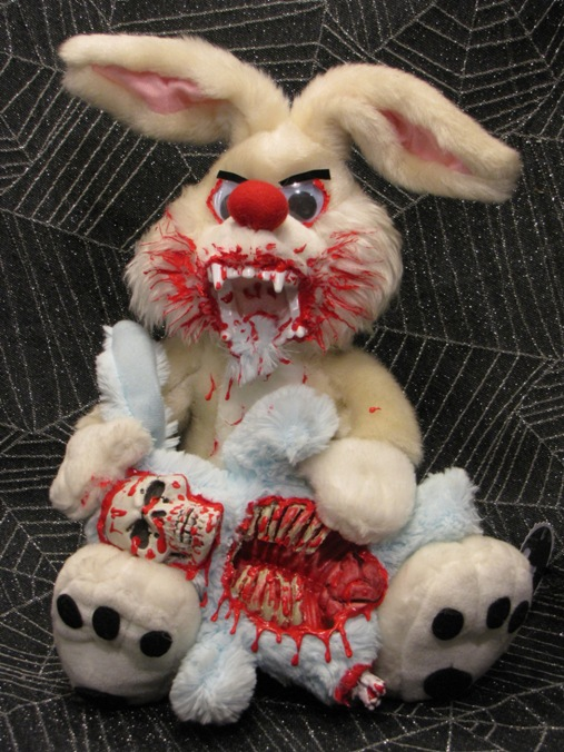 Roger Rabbit Vampire Bunny Eating Skeleton Bunny Scare Bear