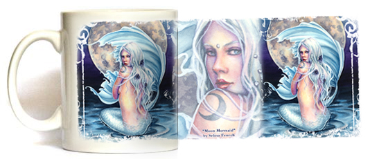 Moon Mermaid Magic Mug by Selina Fenech