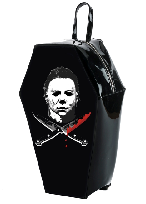 Universal Monsters Michael Myers PVC Coffin Backpack by Rock Rebel