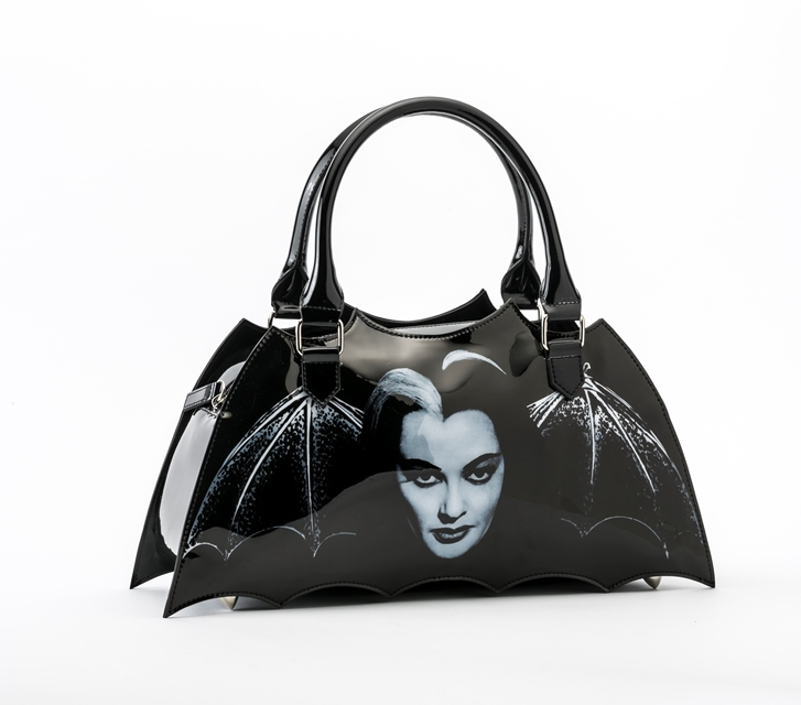The Munsters Lily Bat Shaped Handbag Purse by Rock Rebel