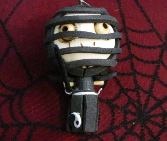 Evil Warrior Ninja Woody Keychain Medium