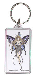 Midnight Fairy Acrylic Keychain