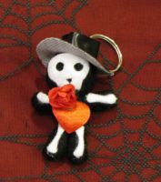 Phantom of the Opera Voodoo Keychain