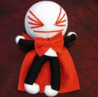 Vampire White and Red Large Voodoo Doll