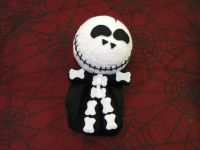 Skelly Skelton Smiling Large Voodoo Doll