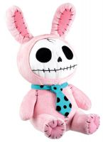 Pink Bun Bun Furry Bones Skellies Plush Toy