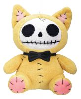 Small Mao-Mao Kitty Furry Bones Skellies Plush Toy
