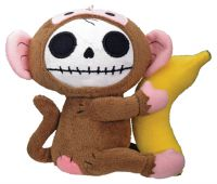 Small Munky Furry Bones Skellies Plush Toy