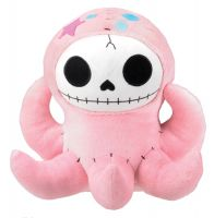 Octopee Furry Bones Skellies Plush Toy