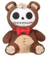 Small Honeybear Furry Bones Skellies Plush Toy