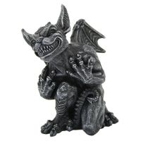 Whimsy Grinning Gargoyle Statue
