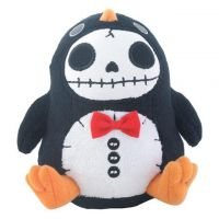 Small Pen Pen Penguin Furry Bones Skellies Plush Toy