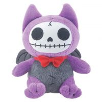 Small Flappy The Bat Furry Bones Skellies Plush Toy
