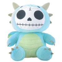 Scorchie Dragon Furry Bones Skellies Plush Toy