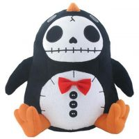 Pen Pen Penguin Furry Bones Skellies Plush Toy