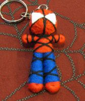 Spiderman Voodoo Keychain