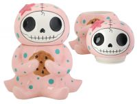 Octopee Furrybones Ceramic Cookie Jar