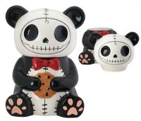 Pandie Furrybones Ceramic Cookie Jar