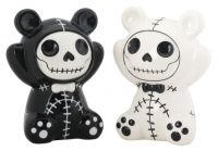 Pandie Furrybones Salt and Pepper Shakers