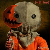 Trick 'r Treat Sam Halloween Mega Scale 15 Inch by Mezco *SLIGHTLY DENTED BOX*