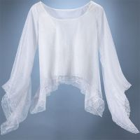 Eternal Love White Minstrel Top Cobweb