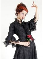 Eternal Love Black Lace Romantic Blouse