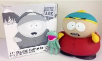 "Deluxe Official Cartman 11"" Clyde Frog Mezco 2006 Limited Edition Ultra RARE *EXTREMELY DENTED BOX*"
