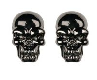 Evil Skull Stud Earrings