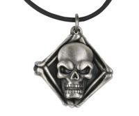 Skull Locket Pendant Necklace