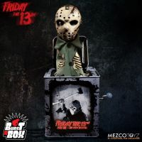 Mezco Friday the 13th Part VII Burst a Box 14 inch Jason Voorhees *SLIGHTLY DENTED BOX*