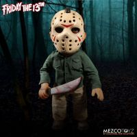 Friday the 13th Mega Jason Voorhees with Sound 15 Inch by Mezco *SLIGHTLY DENTED BOX*