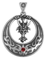 Mystic Dragon Pendant Necklace