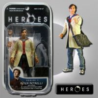 Heroes Series 1 Peter Petrelli Action Figure Mezco *EXTREMELY DENTED BOX*