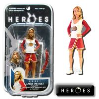 Heroes Series 1 Claire Bennet Action Figure Mezco *EXTREMELY DENTED BOX*