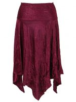 Eternal Love Plus Size Garnet Kerchief Skirt Bodre