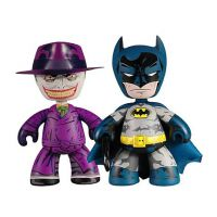 Batman and Joker Mez-Itz Figures SDCC 2010 Exclusive