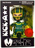 Mez-itz Kick-Ass Exclusive Vinyl Figure Green & Yellow