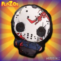 Jason Vorhees Friday the 13th Flatzos Plush