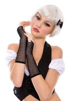 Thick Mini Diamond Net Arm Warmer