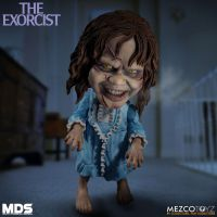 The Exorcist Stylized Regan 6 Inch Vinyl Figure *EXTREMELY DENTED BOX*