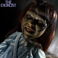 The Exorcist Regan Mega Scale 15 inch with Sound by Mezco *SLIGHTLY DENTED BOX*