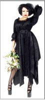 Eternal Love Black Ophelia Dress Velvet
