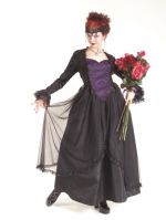 Eternal Love Plus Size Violet Gothic Sacred Heart + Roses Belle Dame