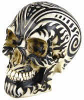 Maori Ram Celtic Tribal Skull Bank