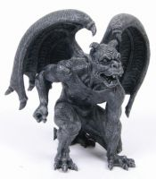 Short Horned Gargoyle Statue