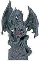 Dragon with Pentacle and Cross