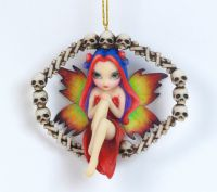 Jasmine Becket Griffith Rainbow of Bones Fairy Ornament