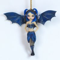 Jasmine Becket Griffith Bat Wings Fairy Ornament