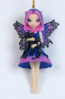 Jasmine Becket Griffith My Three Kitties Fairy Ornament
