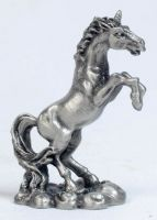 Small Pewter Unicorn